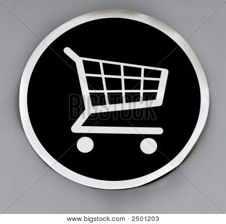 Shopping Trolley Storage Point