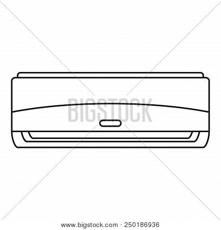 Commercial Conditioner Icon. Outline Commercial Conditioner Vector Icon For Web Design Isolated On W