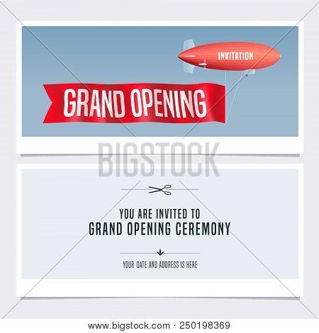 grand opening invitation sample