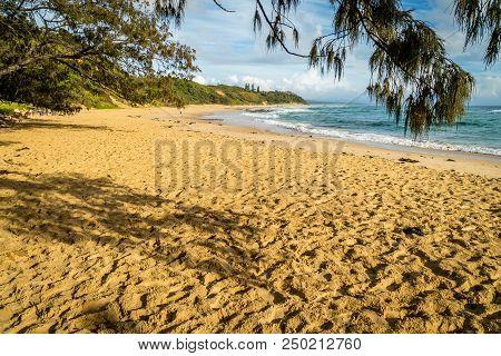 Shelly Beach In Nambucca Heads In Australia After Sunrise