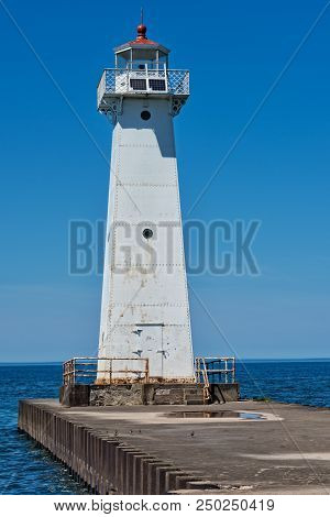 Sodus Point Outer Lighthouse In New York