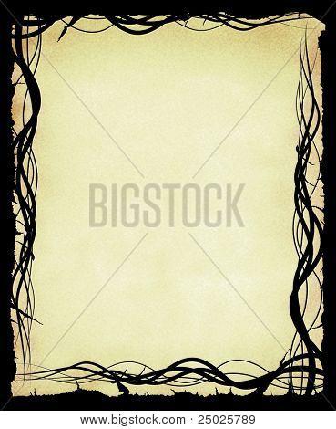 Grungy Organic Frame