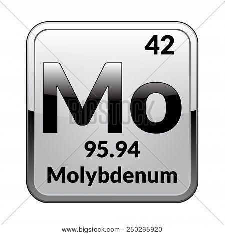 Molybdenum Symbol Vector Photo Free Trial Bigstock