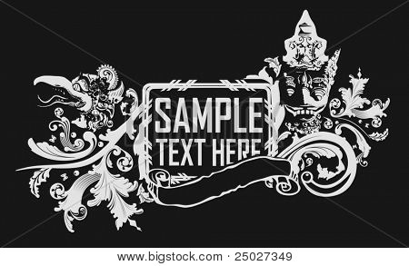Tribal vector illustration