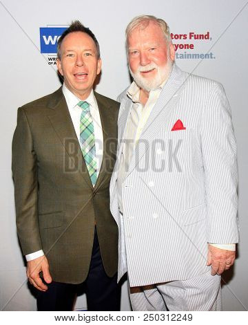 LOS ANGELES - JUN 11: David Rambo, Ted Heyck at The Actors Fund's 22nd Annual Tony Awards Viewing Party at the Skirball Cultural Center on June 10, 2018 in Los Angeles, CA