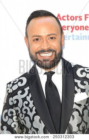 LOS ANGELES - JUN 11: Nick Verreos at The Actors Fund's 22nd Annual Tony Awards Viewing Party at the Skirball Cultural Center on June 10, 2018 in Los Angeles, CA