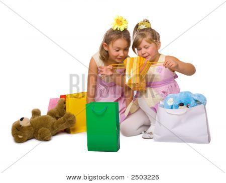 Child Shopping Delight