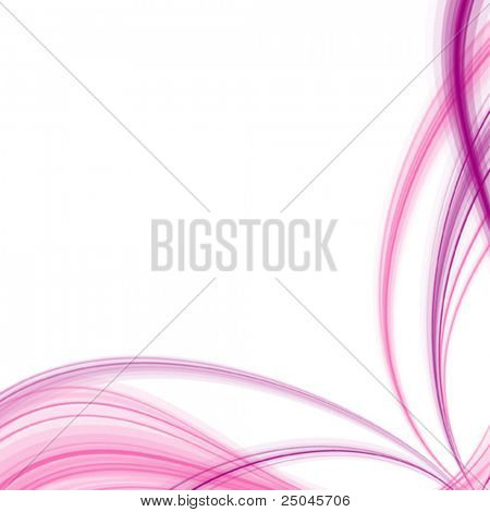 Vector. Abstract silky background. No transparencies, only gradients used.