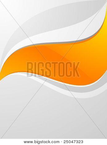 Saubere Hintergrunddesign mit Raum für Nachricht