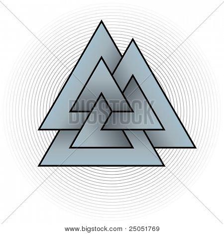 Knot of the Slain (symbol of God Odin)