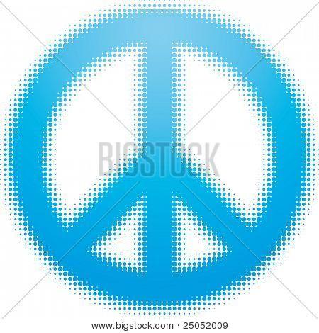 peace symbol (dots design series)