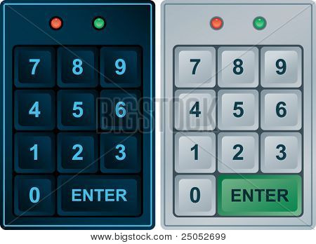 Keypad Entry (vector enable in portfolio)