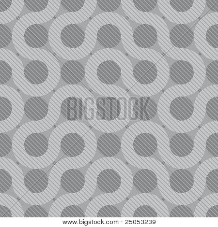 abstraktní toku šedé pozadí (tileable vzor)