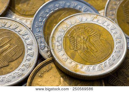 Piastres, Egypt Sinai Africa, Egyptian Pounds Coins