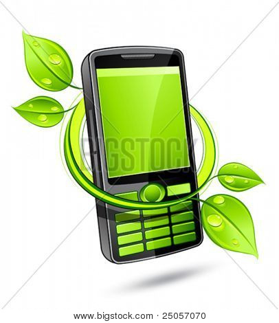 Green eco phone