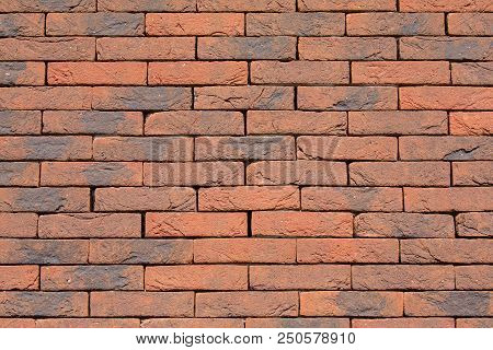 Background Wall Of Bricks Without Cement Joints