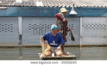 Fishing in the Flood Waters 2
