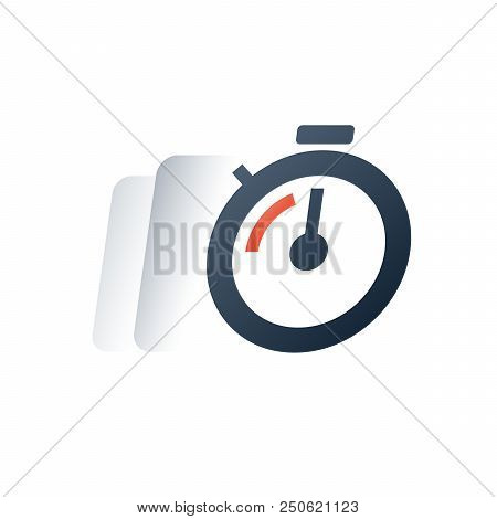 Fast Time Motion, Quick Delivery Period, Deadline Clock Timer, Stopwatch Timeout, Limited Offer Last