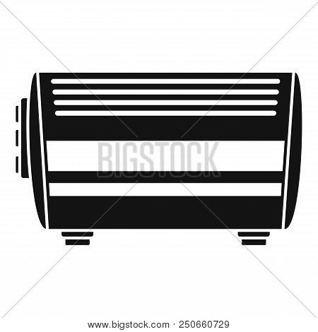 Home Convector Icon. Simple Illustration Of Home Convector Vector Icon For Web Design Isolated On Wh