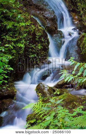 Waterfall Feugen Austria