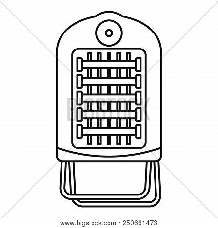 Hot Small Convector Icon. Outline Illustration Of Hot Small Convector Vector Icon For Web Design Iso