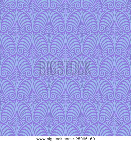 Seamless Jugendstil Background