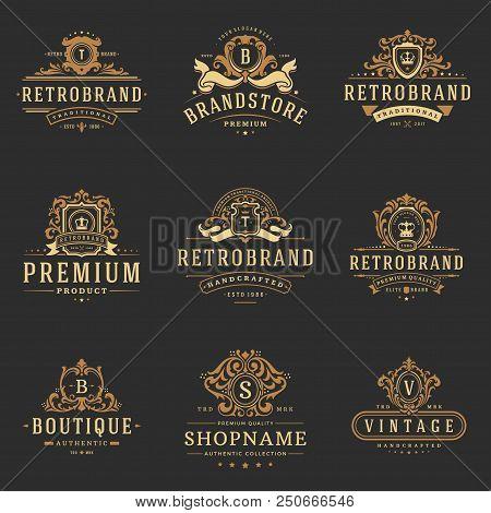 luxury monograms vector photo free trial bigstock