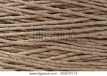 diagonal and crossing in hank packing twine poster