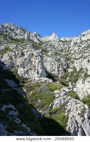 The Calanques massif, Provence, France