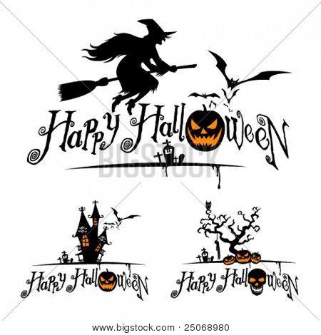 Halloween vector designs.