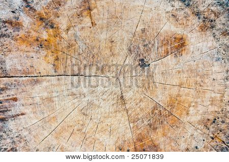 Wood Texture Detail For Background.