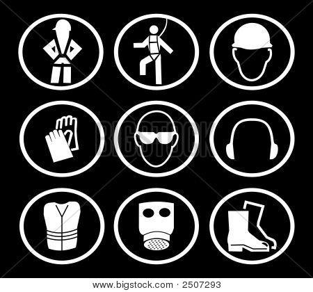 Construction Safety Symbols