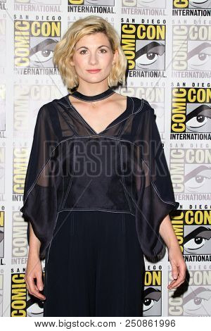 SAN DIEGO - July 19:  Jodie Whittaker at the