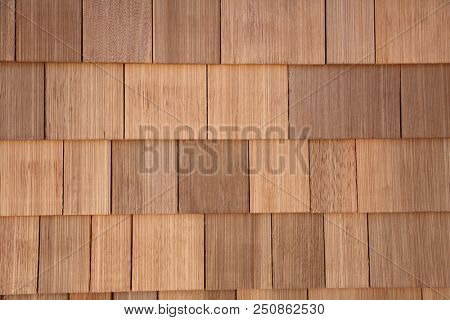 Cedar Shake. Cedar Shake Background. Wood Shake Wall. Backgrounds and Wallpapers. Room for text.
