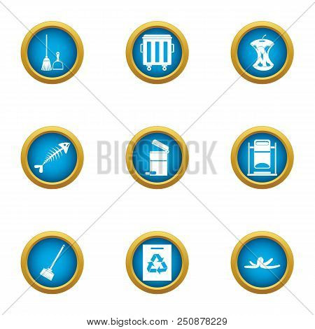 Handling Icons Set. Flat Set Of 9 Handling Vector Icons For Web Isolated On White Background