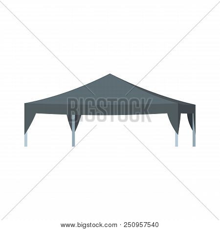 Commercial Tent Icon. Flat Illustration Of Commercial Tent Vector Icon For Web Isolated On White