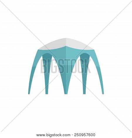 Hight Tent Icon. Flat Illustration Of Hight Tent Vector Icon For Web Isolated On White