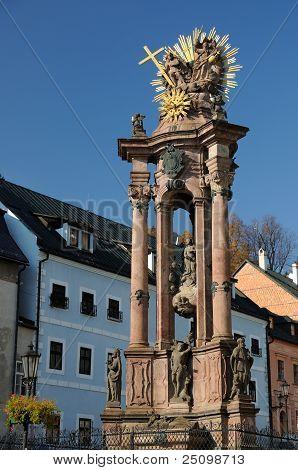 Holy Trinity Plague Column in Banska Stiavnica