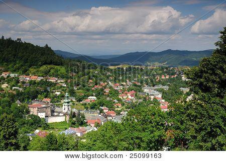 Old castle in Banska Stiavnica, Slovakia UNESCO