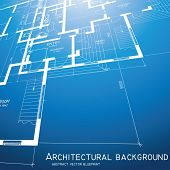 Architectural background. Vector. poster