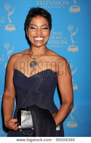 LOS ANGELES - JUN 17:  Judge Lynn Toler arriving at the 38th Annual Daytime Creative Arts & Entertainment Emmy Awards at Westin Bonaventure Hotel on June 17, 2011 in Los Angeles, CA