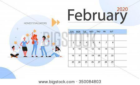 Real Estate Advantage Annual Calendar February. Idea Of House For Sale