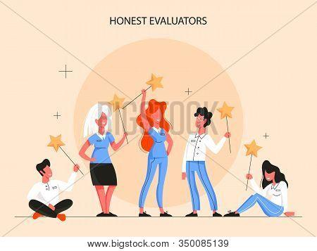 Real Estate Advantage Infographics. Honest Evaliators. Idea Of House