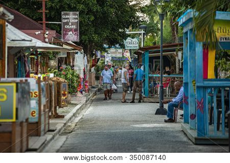 Scene Of Daily Life On The Streets Of Dominicus 17