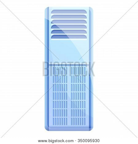 Electronic Air Purifier Icon. Cartoon Of Electronic Air Purifier Vector Icon For Web Design Isolated
