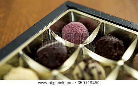 Sphere Chocolate Cakes