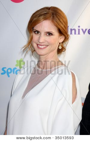 LOS ANGELES - AUG 1:  Sarah Rafferty arriving at the NBC TCA Summer 2011 All Star Party at SLS Hotel on August 1, 2011 in Los Angeles, CA