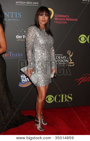 LAS VEGAS - JUN 19:  Crystal Chappell arriving at the  38th Daytime Emmy Awards at Hilton Hotel & Casino on June 19, 2010 in Las Vegas, NV.