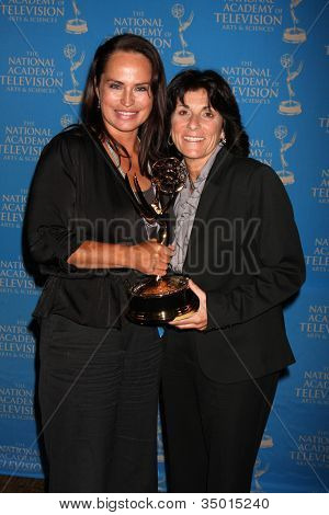 LOS ANGELES - JUN 17: Crystal Chappell, Kim Turrisi at the 38th Annual Daytime Creative Arts & Entertainment Emmy Awards at Westin Bonaventure Hotel on June 17, 2011 in Los Angeles, CA