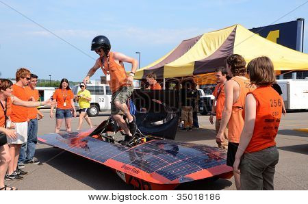 Oregon State University's Solar Car Team